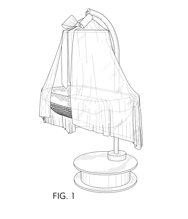 Design Patent Example: Bassinett